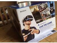 PlayStation VR, with camera + Two Games
