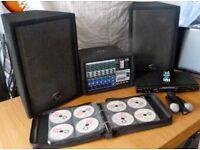 Karaoke Equipment - Complete Gig Set Up