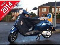 Vespa Primavera 2014 2T 50cc (£1,600 ono)
