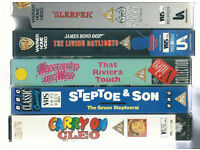 Job Lot / Bundle of VHS Comedy Videos / Very good Condition