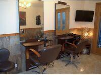 Hairdressing Backwash, Mirror work stations & 2 x hydraulic chairs
