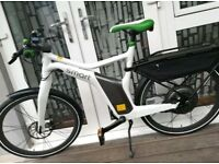 Smart ebike Mercedes Benz Electric Bicycle White