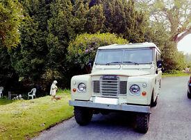 For Sale Land Rover Series 3 LWB hardtop Diesel