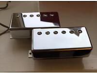 Gibson Burstbucker 1 & 2 PAF Humbuckers, Nickel Covers