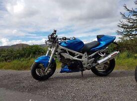 Suzuki tl 1000s street fighter