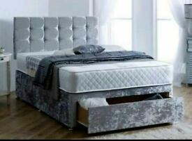 BEDS - NEW UK DIVAN - FREE DELIVERY