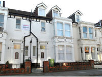 A spacious 6 double bedroom furnished house on Festing Grove, SOUTHSEA available 1st July
