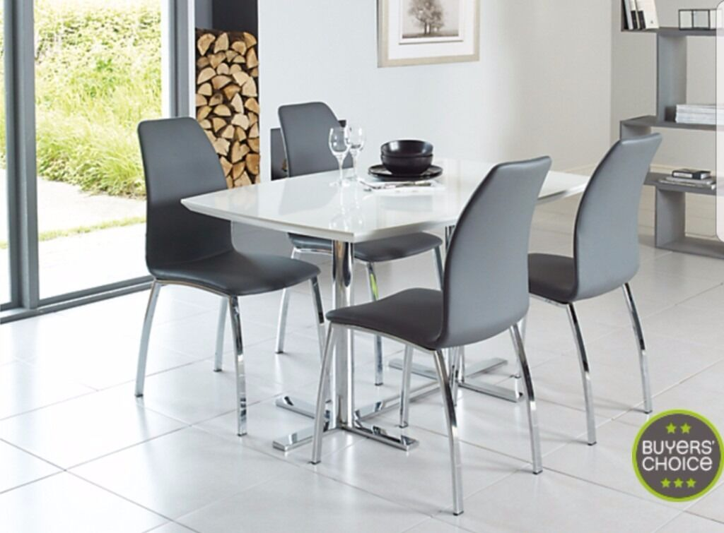 Alaska Dining Table 4 Chairs