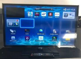 "Samsung 32"" smart television"