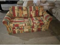 PATTERNED SOFA BED