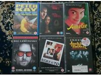 DVDs £2.50 each or 2 or more £2 each