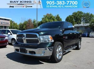 2016 Ram 1500 BIG HORN QUAD CAB, ECO DIESEL, 4X4, BACKUP CAM