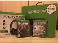 Xbox one 500gb with accessories