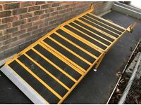 Fixed Foldable Van Loading Gate Ramp 200 x 80 cm