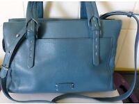 Radley Handbag Blue Leather