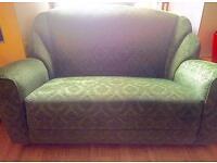 Beautiful, Rare Antique Art Deco 3pc Suite (Leaf Green)