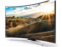 """Samsung 55"""" 4K UHD, Curved Smart LED TV"""