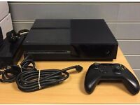 X-Box One 500GB with Rainbow Six, Halo Guardians, Fifa 16, Battlefield 1