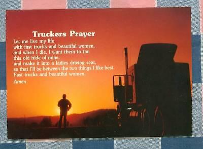 50 Postcards Little Lee Comic Trucking Truckers Prayer