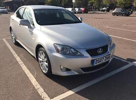 LEXUS IS250 AUTOMATIC FULL MAIN DEALER SERVICE HISTORY - 19 MONTHS LEXUS EXTENDED WARRANTY