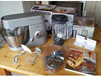 Kenwood Premier Chef KMC570 Food Mixer and Appliance Bundle - hardly used