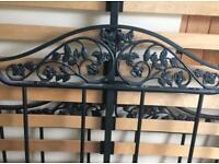 Metal Ornate Double Bed Frame