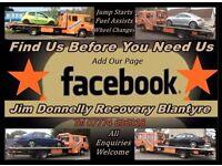 Jim Donnelly Breakdown Recovery Blantyre