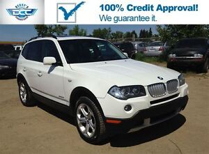 2009 BMW X3 xDrive30i Leather & PanoRoof & Bluetooth!! SALE!!