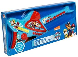 PAW PATROL DELUXE CHILDRENS KIDS ACOUSTIC GUITAR MUSICAL INSTRUMENT CHILDS TOY