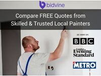 Friendly Local Painter and Decorators, covering ALL OF LONDON [£18 p/h average quote]