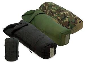 US Military Four Piece Modular Sleeping Bag system Minus 30C - 100% AUTHENTIC - FITS UP TO 6 FT 2""