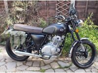 Sinnis Retrostar 250cc very low milage