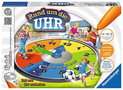 Ravensburger tiptoi Lernspiel Rund um die Uhr 00736