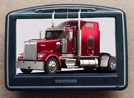 TomTom Go 730 GPS Receiver Sat Nav with 47 Europe Truck Maps (VSMA)