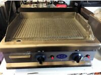 Ace LPG Gas Griddle Fully Ribbed EN343