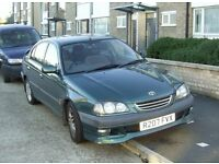 Toyota Avensis GLS Auto Saloon. 1998 R reg. M.O.T. April 2017. Very Reliable Automatic.