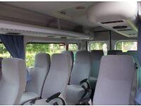 Fiat ducato minibus seats