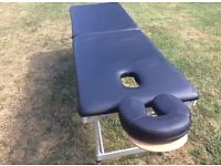 Massage couch ideal for mobile therapists