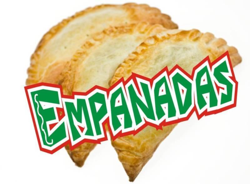 """Concession Decal 10"""" Empanadas Restaurant Food Catering"""
