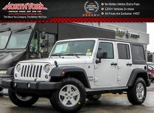 2017 Jeep WRANGLER UNLIMITED New Car Sport S Connectivity,Power