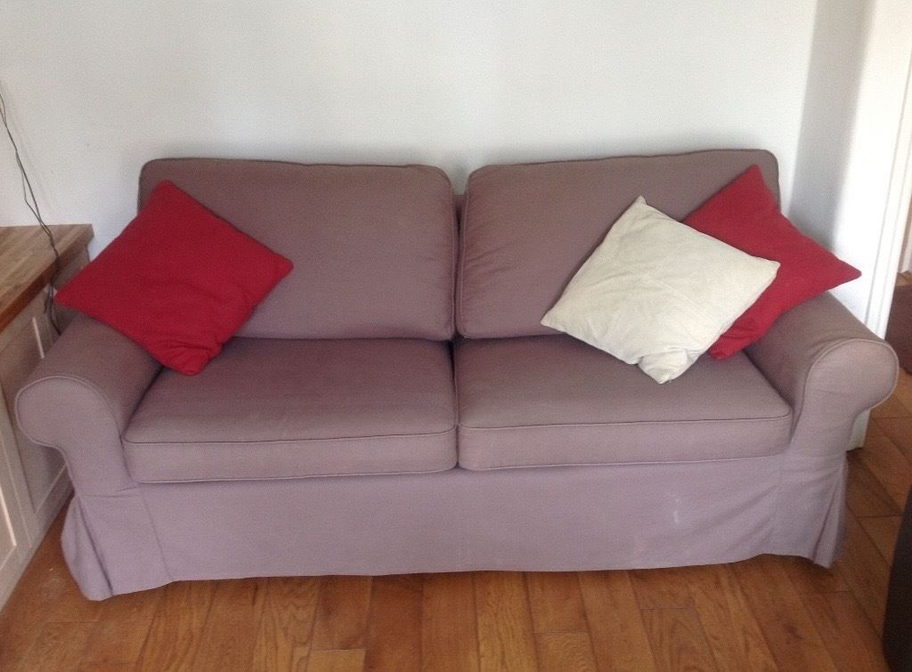 Ikea Rp Comfortable Two Seater Metal Action Sofa Bed Good