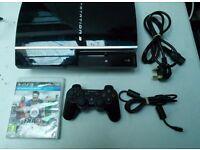 Sony PlayStation 3 40GB Black Console
