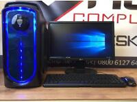 Brand New Fast Gaming Pc Computer Six Core 8GB Ram SSD Win 10 2GB Graphics Card Free Delivery CSGO