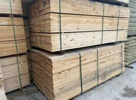 Untreated Timber Scaffold Boards ~ New