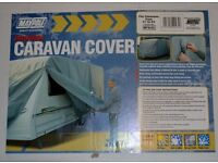 Maypole Caravan Cover- Grey - 21''-23'' Never been used .Still in the box