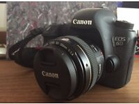 Canon EOS 6D Body + remote and SD card - 6560 shutter count!