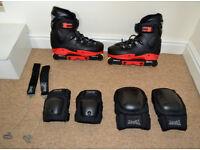 In line skates size 10/11