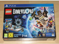 LEGO Dimensions Starter Pack PS4 - Brand New and Unused. Complete with Lego Game, Figures and Portal