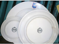 Brighton Hove Albion Club Plates - originals from the Seagulls clubhouse