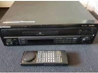 Pioneer laserdisc player with 10 Laserdiscs